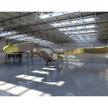 The flying robot (3D Viz exercise)