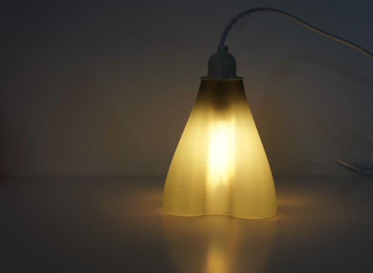 Shade lit up