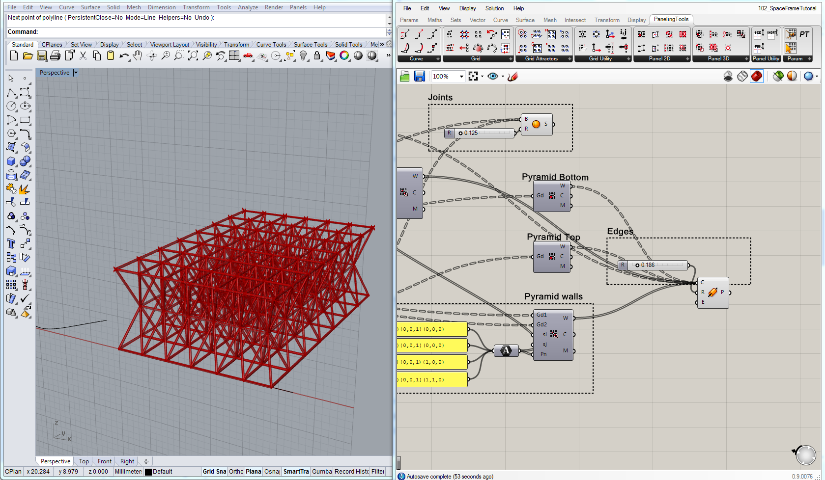 Utilising Rhino And Grasshopper Part 1 Mcd Martyn Catchpole Design Wiring Diagram Creating 3d Tubes Based On Wires